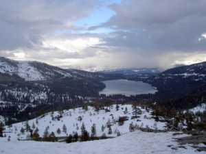 Donner Pass in Winter